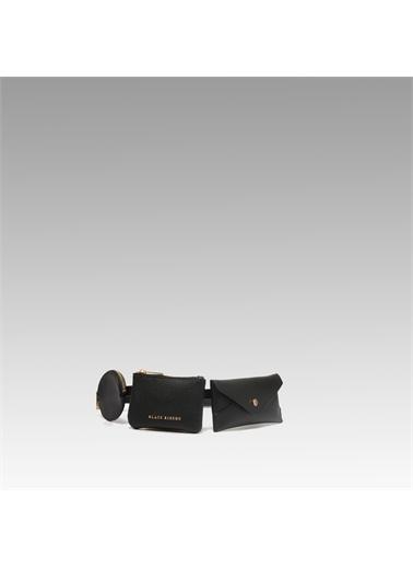 Black Ribbon Bel Çantası Siyah